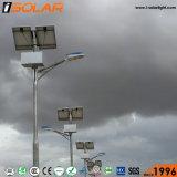6m 40W LEDランプ電池の上の太陽街灯