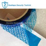 タンパーのシーリングカートンのための明白な証拠の機密保護ボイドテープ