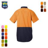 De korte Overhemden van de Veiligheid van de Mensen van de Kleding van Workwear van de Koker Eenvormige