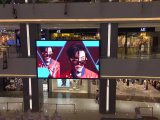 Tabellone fissato al muro dell'interno del LED P3/P4/P5/P6 di colore completo