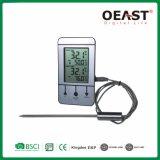 Termómetro digital de la carne el horno y con temporizador y C/F5562B1 Interruptor de OT