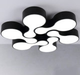 Inicio interiores modernos decorativos de luz LED de techo