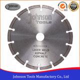 De Hulpmiddelen van de diamant: blad van de Zaag van 180mm het Laser Gelaste