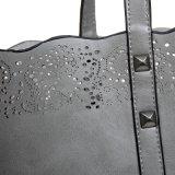 Lederne Stadtstreicherin-Entwerfer-Luxuxbeutel der Frauen-Handtaschen-Weinlese-Dame-
