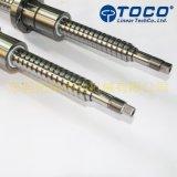 CNC 기계를 위한 높은 정밀도 선형 운동 공 나사에 의하여 구르는 Ballscrew