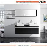 Armário de toucador banho marrom/Foshan armário de banheiro/Banheira de armário de banheiro T9013