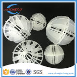 Plastic Polyhedral Ballen met Zure Weerstand Op hoge temperatuur 25mm