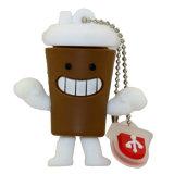 Мультфильм бутылки кружки кофе флэш-накопитель USB-накопителя