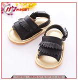 Новый летний ребенок женского пола ребенка обувь мягкая нижней части Non-Slip удобную обувь для малышей