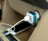 AndriodのiPhoneユニバーサル車の充電器2ポートUSB車の充電器のための二重USB車の充電器