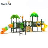 Forêt vierge de gros de jouets pour enfants Trois Diapositive Terrain de jeux extérieur