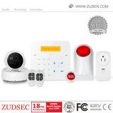 Red inalámbrica GSM + WiFi Home Alarma con función de la cámara IP