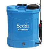 16L'outil d'alimentation de jardin Arrosage de mauvaises herbes agricoles sac à dos de la pression de la batterie du pulvérisateur électrique (SX-MD16I)