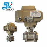 Precision Precise Electric Threaded Ball Valve Roestvrij Staal Gegoten Staal