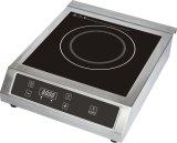 cuiseur commercial électrique d'admission de RoHS LVD EMC de la CE 3500W pour le marché de l'Espagne