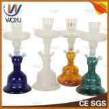 Fábrica de China Wholesale pipa shisha Botella de cristal con pinzas de Hookah Tazón de Chicha Narguile Hookah Kaloud