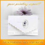 Cartões de casamento de papel