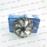 Rueda Titanium Deutz del compresor del billete de S200G 1270-970-0012, de la carretera