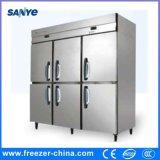 ステンレス鋼6のドアのKtchen直立した冷却し、フリーズの冷却装置