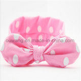 Vente en gros de petits lapins Earbandband Baby Girls Cotton Stretch Hairband