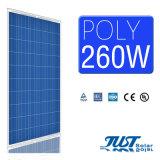 家のパワー系統または全権システムまたは発電所のための260W多太陽電池パネル