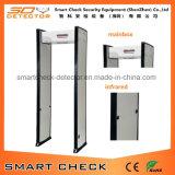 Einzelner Zonen-Bogen-Metalldetektor-beweglicher Weg durch Metalldetektor