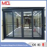 Aluminiumtür-Haupttür-Gitter-Entwurf
