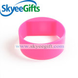 Wristband largo ecologico reso personale del silicone