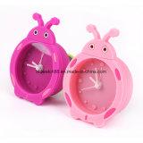 Cadeau de silicone de quartz de promotion des horloges tableau horloge avec la forme d'animaux