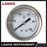 019 Medidor de pressão preenchido com líquido
