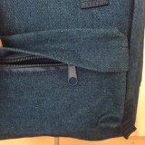 Мода синий Жан джинсовой рюкзак сумка с брелоки ручки