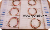 Gpon Telecommunication Color Fibre PLC Splitter Sistemas LAN / CATV