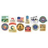 Distintivo su ordinazione di Pin di immaginazione della destinazione per la promozione di sport