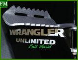 Schwarzer Fuß verdübelt Rest-Pedal für JeepWrangler Jk