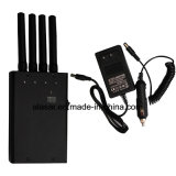 4 Band 2g / 3G / 4G / WiFi LED Display Jammer Display Display Capacidade e USB Port Charge Mobile