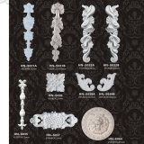 Apliques esculpida de Porta de poliuretano PU enfeites hn-S037