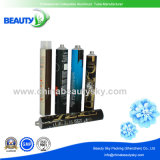 Golden Internal Coating Inside Hair Color Cream Packaging Aluminum Tubes