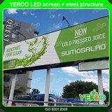 表示を広告する高品質の低価格LEDスクリーンの屋外の掲示板