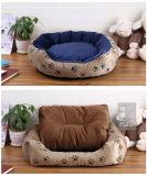 Base morna macia do sofá do filhote de cachorro do cão de animal de estimação (bd5015)