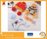 Großhandelskinder und Jacquardwebstuhl-Hüte des Babys strickende Earflaps Schutzkappen
