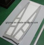 Máscara ao ar livre resistente de Sun do balcão do telhado do metal do dossel do vento de alumínio contínuo do frame (YY-K)