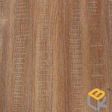 Декоративная бумага с зерном древесины дуба для мебели, двери, MDF, HPL