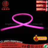 IP65 120LEDs LED Warm White 220V Neon Flexible Lighting Covers Strip for Shop Décoration de l'hôtel