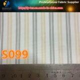 淡いブルーのライニング、ライニング(S99.110)のためのポリエステル縞ファブリック