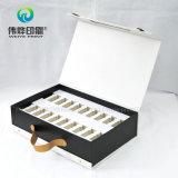 Impresión de papel rígido elegante caja de regalo de embalaje se utiliza para productos sanitarios