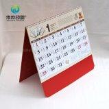 Печатание календара офиса стола горячего сбывания изготовленный на заказ
