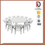 6FT HDPE Blasformen-Plastik, der runden Tisch (BR-P010, faltet)