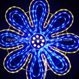 Lumière de bande de décoration de câble de lumières de corde de DEL d'usine