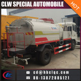 El agua de enjuague Camión Cisterna barrido Dongfeng tanque de agua 8000L 9000L Carretera Camiones Limpios