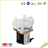 Solenoide 12V Auto-Flush válvula eléctrica en el sistema de agua RO
